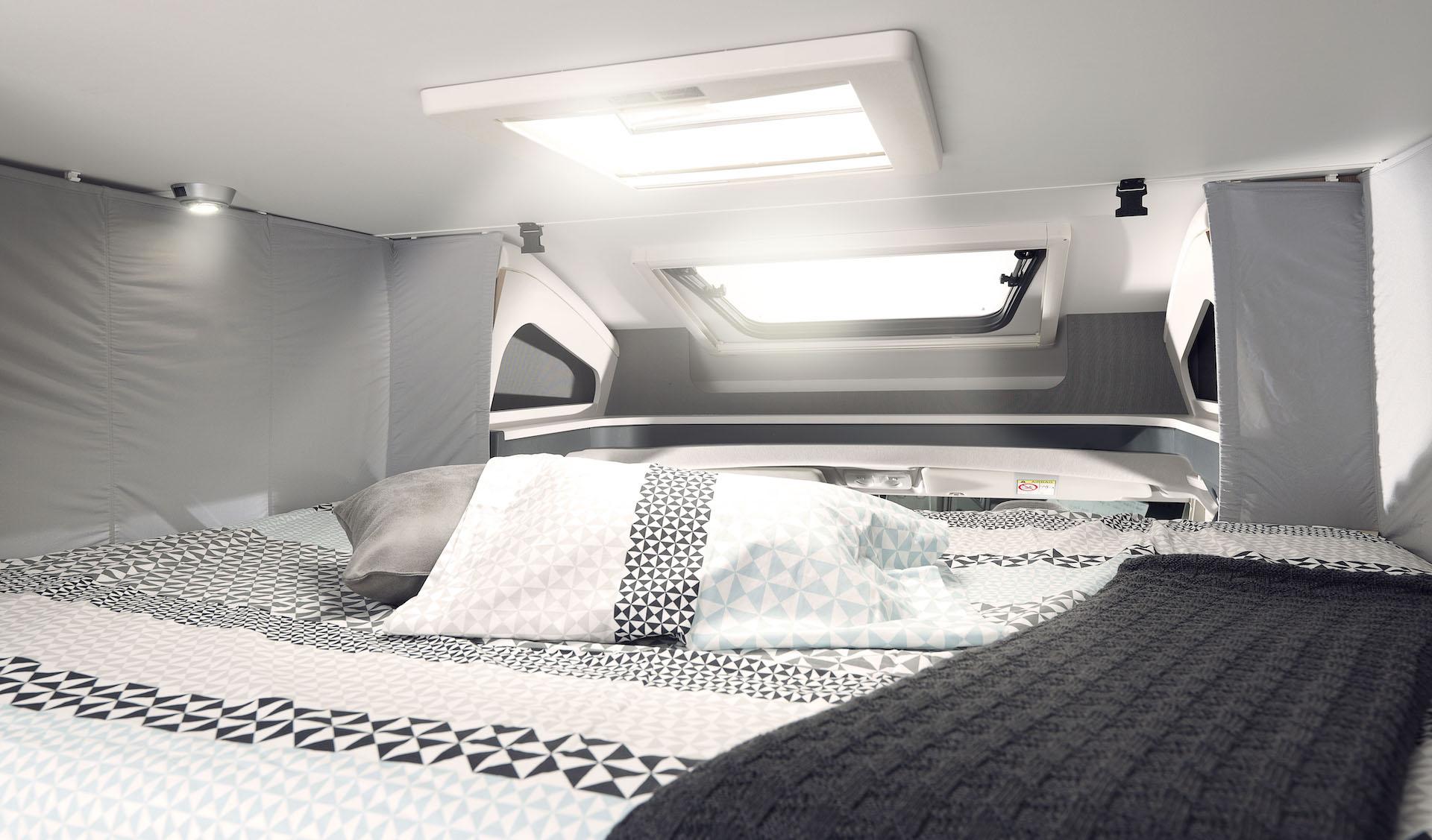Bettbereich Wohnmobil