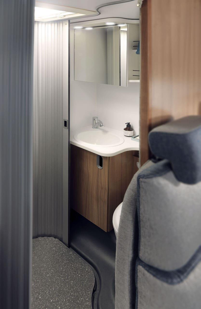 WC Bereich Wohnmobil