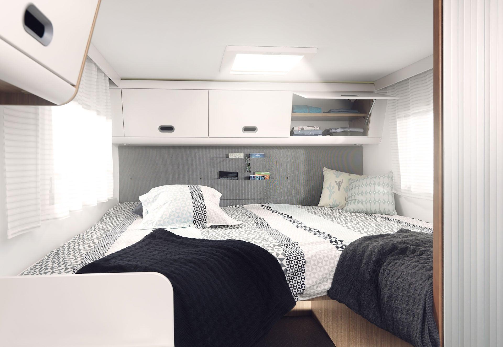 Schlafbereich Reisemobil