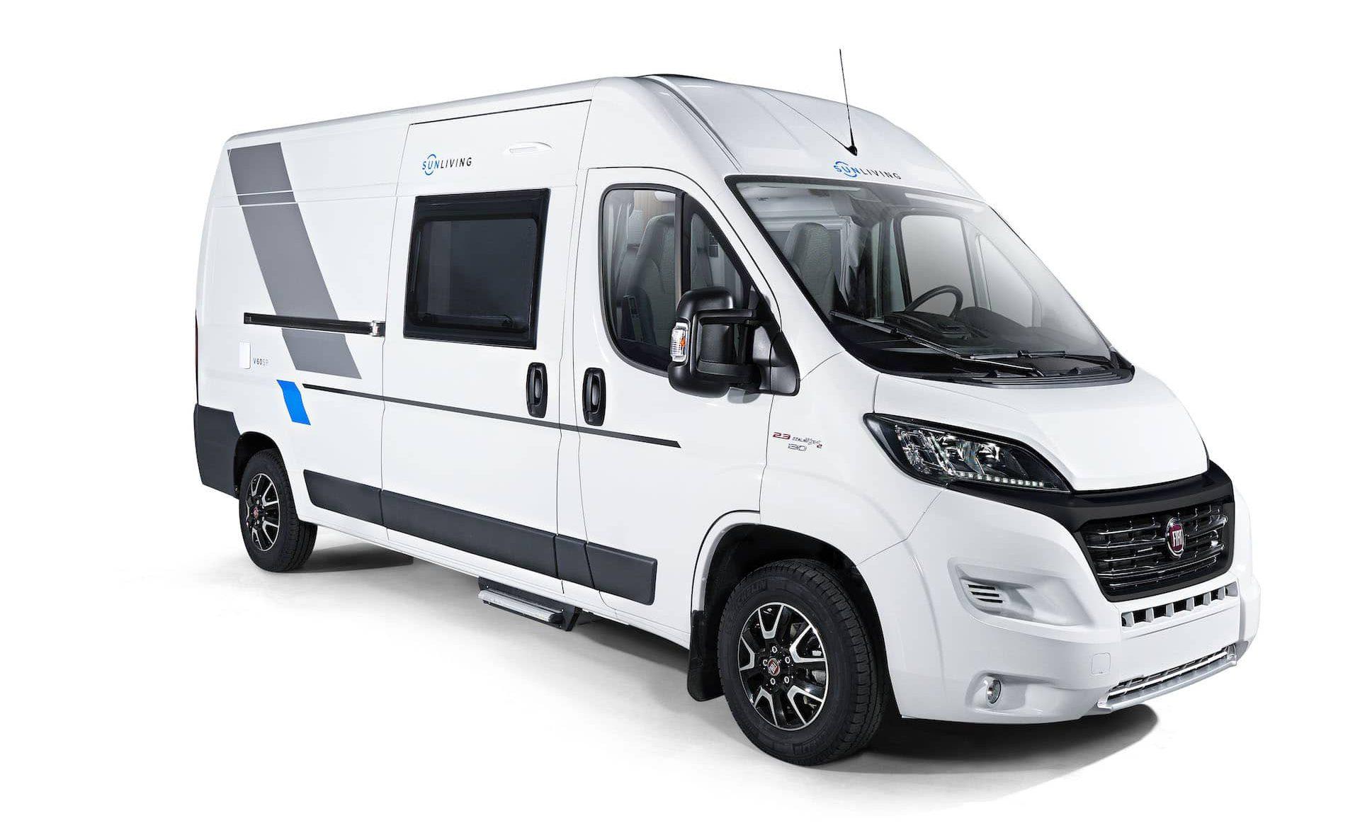 Ansicht eines Wohnmobils Van