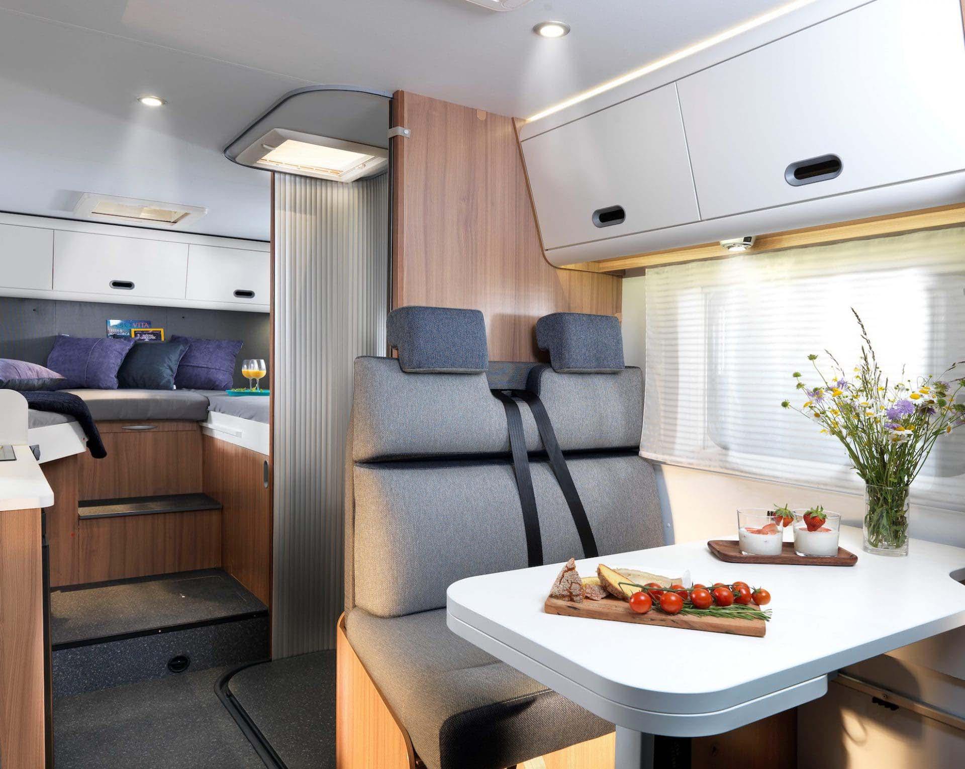 Sitzbereich Reisemobil