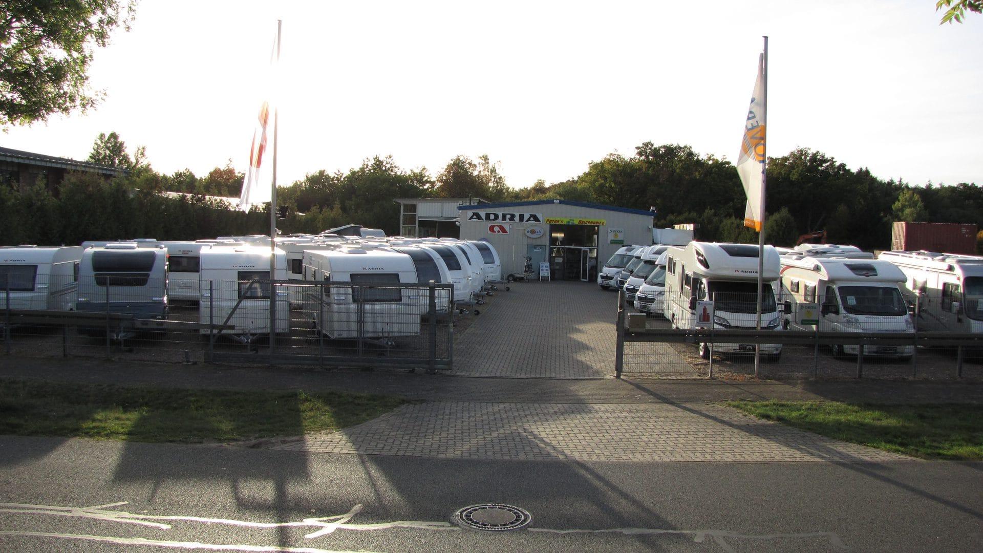 Aussenansicht von Peters Reisemobile in Celle